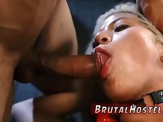 Brutal rough dp gangbang public first time Big-breasted blondie cutie