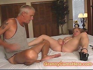 MEAN Granny turns him BITCH