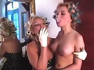 Smoking fetish lesbians age play
