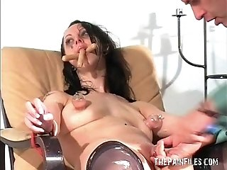 Messy female humiliation and extreme domination