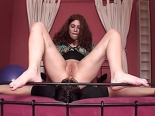 Analingus Femdom - male slave licking his mistress